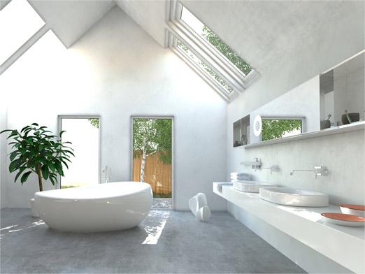 Skylights for bathrooms